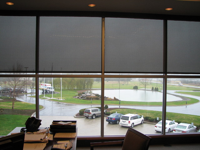 Corportate Office Motorized Shades