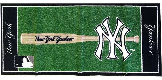 Baseball Bathroom Rug