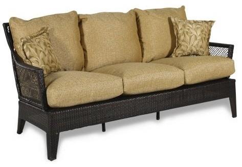 Agio Sydney II Woven Sofa Contemporary Outdoor Sofas