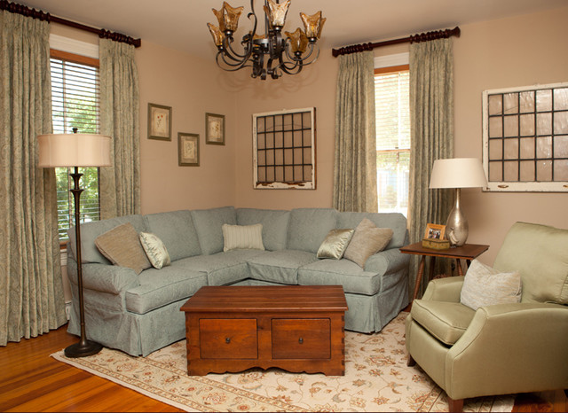 Historic Victorian Home traditional-living-room