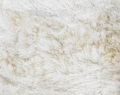 Naya White Rug modern-rugs