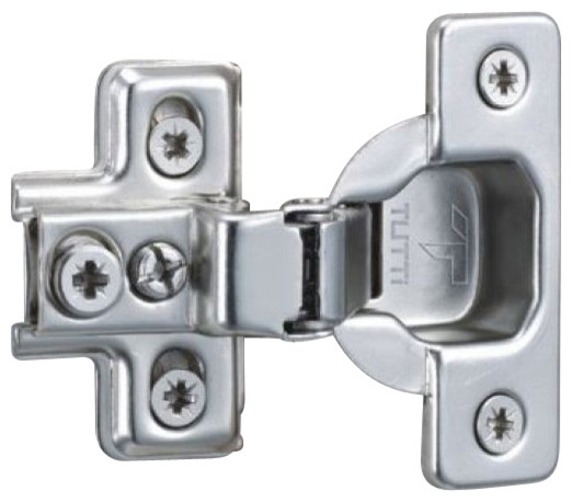 "Face Frame 5/8"" Overlay Hinge, 110 Opening - Transitional - Hinges - by Pullouts Plus"