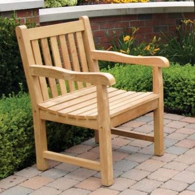 jewels of java teak english garden armchair modern
