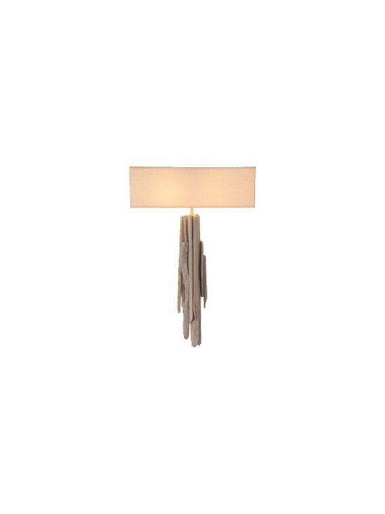 ecofirstart - WALL LAMP 'ATLANTIDE' - All creations are born of an encounter between the technical mastery of a French craftsman and the prolonged work of nature. Nature has fashioned each piece of driftwood over time, rendering every item we produce unique in both form and dimension.