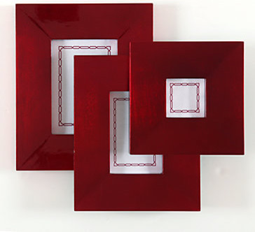 Red Lacquer Frame Collection modern-picture-frames