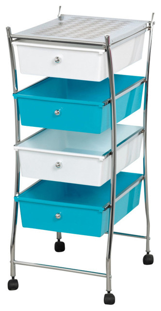 Lastest  CanDo Studio Organizer Cart With Drawers From Bed Bath Amp Beyond