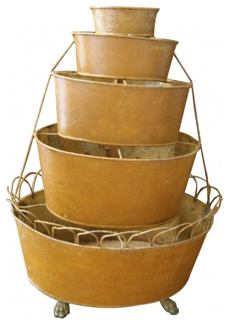 French Style Planter eclectic-baskets