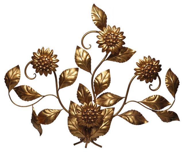 Italian Floral Sconce mediterranean-wall-lighting