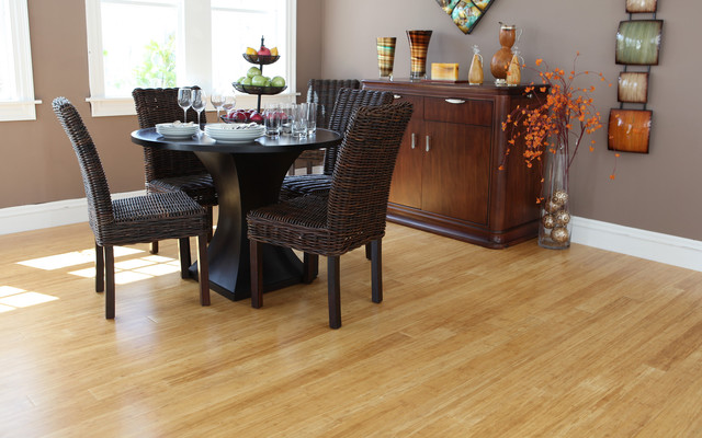 Straw-Bamboo modern wood flooring