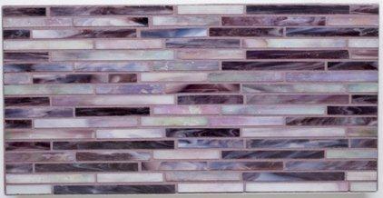 Gigi 39 s groovy stixx alysedwards glass tile purple haze - Purple kitchen wall tiles ...
