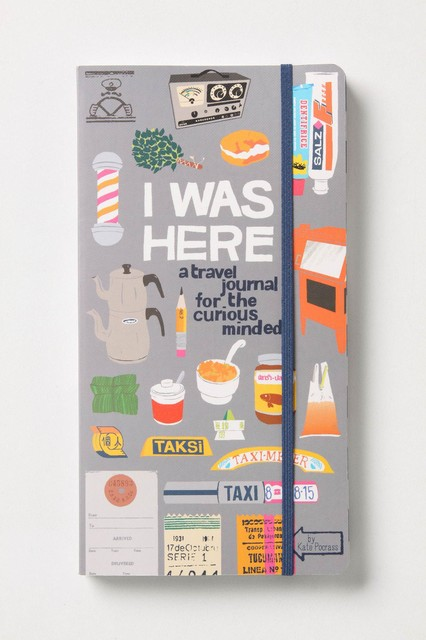 I Was Here: A Travel Journal For The Curious Minded eclectic books