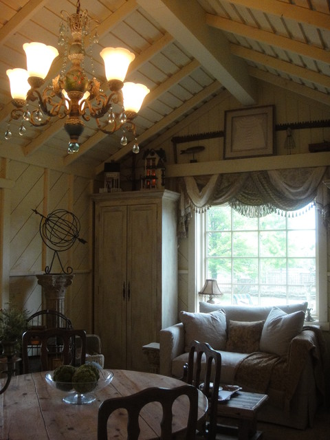 Cottage garden room eclectic oklahoma city by rhonda for Interior designs by rhonda