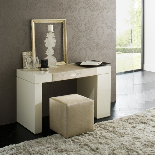 Rossetto furniture diamond ivory dressing table t266700000054 contemporary bedroom - Modern bathroom dressing table ...