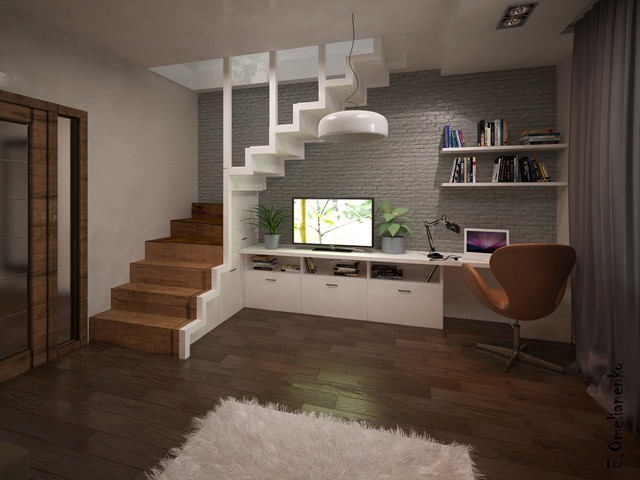 Apartment on Lermontova str. contemporary-rendering