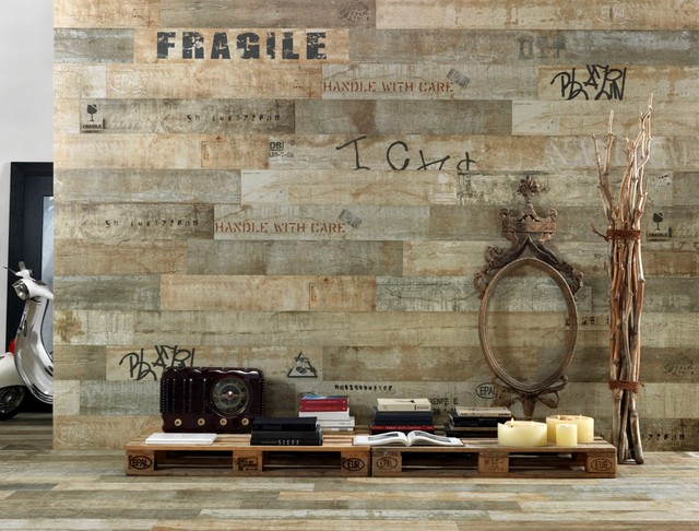2012 Tile Trends Photography - Living Spaces with Coverings Preview eclectic