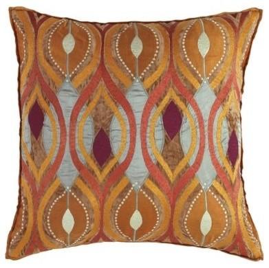 Company C Deco Pillow, Copper decorative-pillows