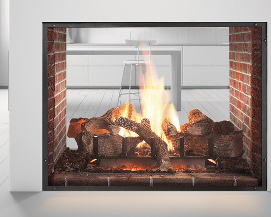 Escape See Through Gas Fireplace -