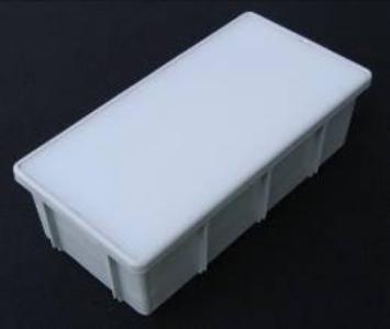 4 x 8 Paver Light™ (4-watt bulb) - Gray, 10-Pack contemporary-outdoor-lighting