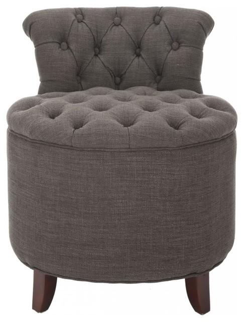 Adler Vanity Chair transitional-bathroom-stools