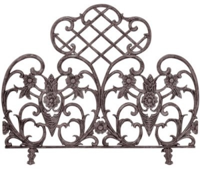 Single Panel Bronze Finish Cast Aluminum Screen modern screens and wall dividers