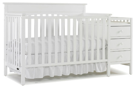Lauren Convertible Crib and Changing Table modern-nursery-furniture ...
