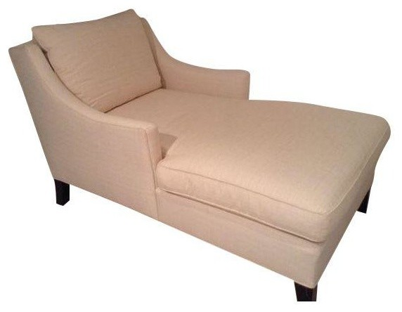 Pre owned Crate & Barrel Chaise Lounge Contemporary Indoor Chaise Lou
