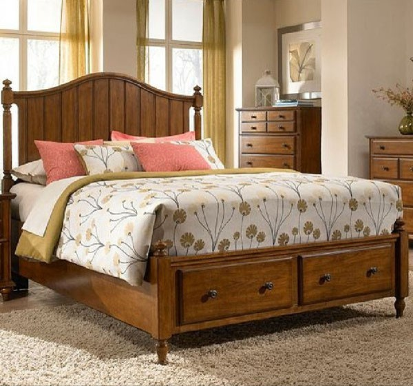 Broyhill furniture hayden place queen storage panel bed - Broyhill hayden place bedroom set ...