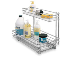 Roll-Out Under-Sink Drawer modern storage and organization