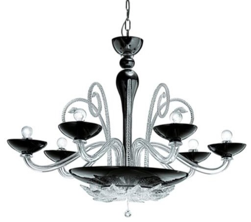 Orleans L 12 Chandelier contemporary-chandeliers