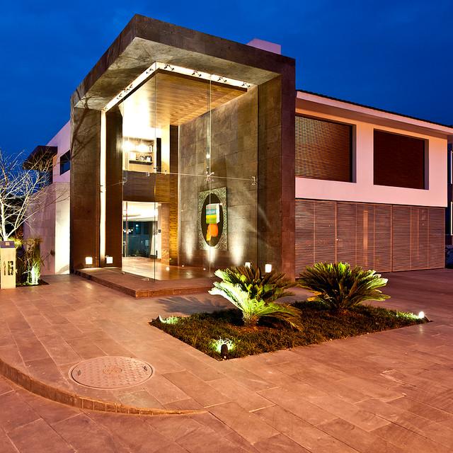 casa cubo contemporary-exterior
