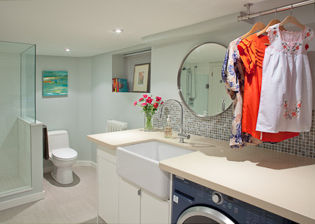 meghan carter design inc contemporary laundry room