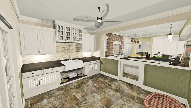 Residential Projects traditional-rendering