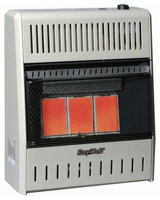 18 000 Btu Vent Free Natural Gas Infrared Wall Heater