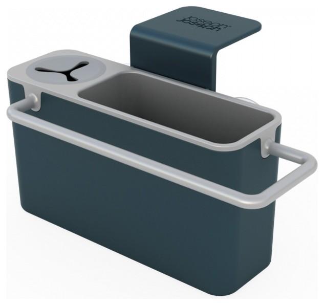 caddy sink organizers gray modern cooking utensils