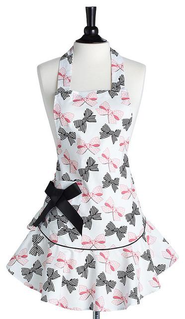 Jessie Steele Bow Peep Bib Josephine Apron eclectic-aprons