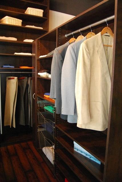Closets by Design Showroom traditional-closet