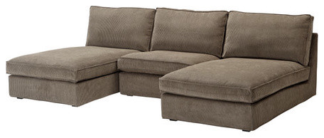 KIVIK 2 chaise lounges and armchair modern-sectional-sofas