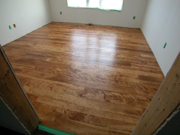 Select Birch - English Chestnut Stain - Contemporary - Hardwood Flooring - ottawa - by Logs End Inc