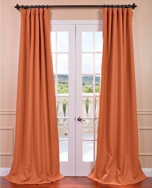Mandarin Bellino Blackout Curtain contemporary-curtains