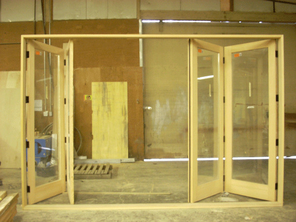 French Fir Cantilever Folding System - Contemporary - Windows And Doors - vancouver - by Doorex