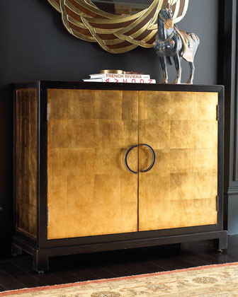 Gold-Leaf Chest traditional dressers chests and bedroom armoires