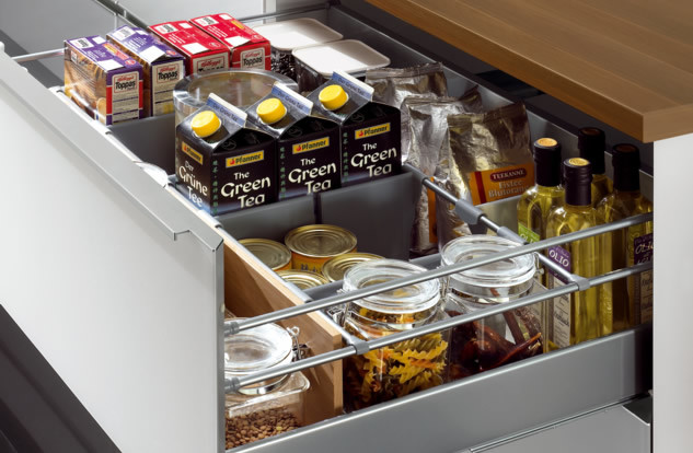 Kitchen Organization Boston Spaces - Contemporary ...