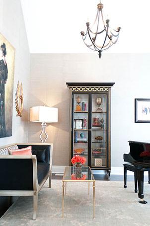 Lumar Interiors contemporary-living-room