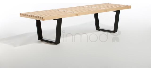 Nelson Platform Bench modern-benches
