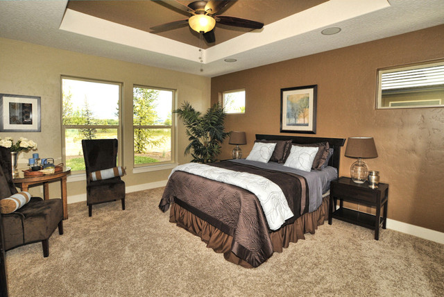 The Austin traditional-bedroom