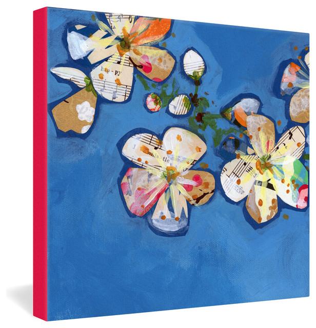 Land Of Lulu Apple Blossoms 2 Gallery Wrapped Canvas eclectic-prints-and-posters