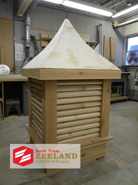 Zeeland Lumber and Supply Custom Woodshop eclectic