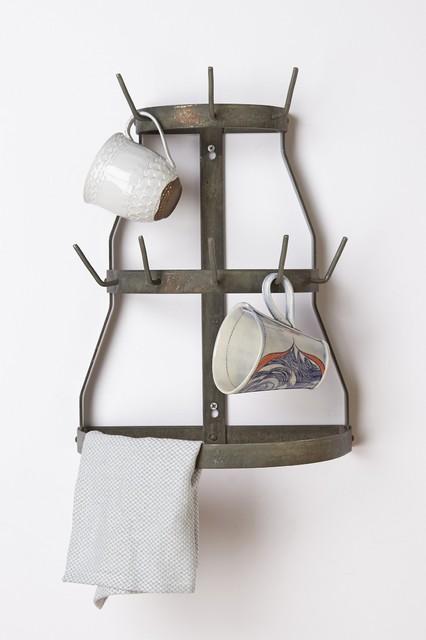 Herisson Mug Rack - Industrial - Mugs - by Anthropologie