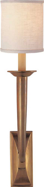 French Deco Horn Sconce | Circa Lighting traditional-wall-sconces