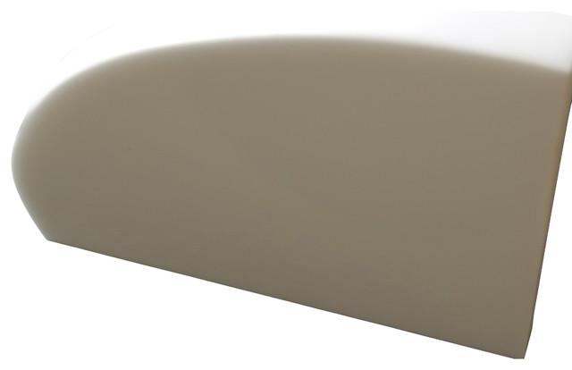 White Glass Corner Shelf modern-bathroom-storage